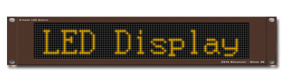 LED Display Model 96 - High-visibility, easy to use LED display for generic messages