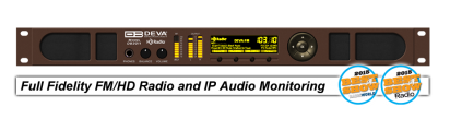 DB3011 - FM/HD Radio & IP Audio Confidence Monitoring Receiver