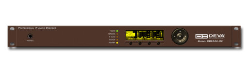 DB9009-RX - Second Generation Advanced IP Audio Decoder